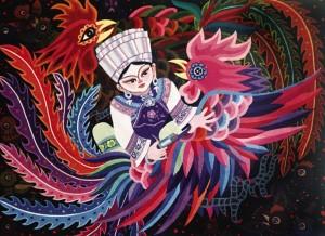 麻阳民间绘画